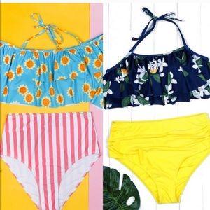 High waisted bikini bundle